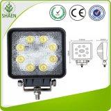 IP67 Squre Epistar 24W LED Work Light for 4*4