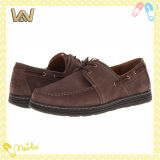 2014 New Design Mens Leather Casual Shoes (D34123)