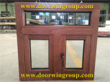 Aluminum Clad Solid Oak Wood Casement/Awning Window