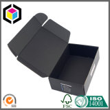 Foldable Both Sides Black Color Printed Corrugated Paper Shipping Box