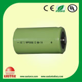D Size Ni-MH Rechargeable Battery with Factory Price