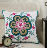 Wholesale Competitive Quality& Price 100% Cotton Embroidered Cushion