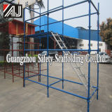 Painted Metal Quicklock Scaffolding