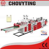 High Speed Shopping and Tshirt Bag Making Machine (500PCS/min)