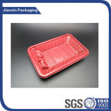 Customize Red Plastic Food Tray