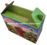 Portable Cmyk Color Printing Fruit Boxes Corrugated Carton