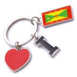 New Custom Metal Souvenir Grenada Keyring
