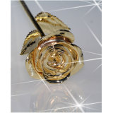 24k Full Gold Dipped Rose for Holiday Gifts