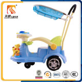 China Factory Kids Ride on Toy Swing Car with Push Bar Wholesale