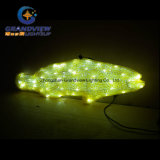 Acrylic Yellow LED Fish for Underwater Theme Park