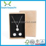 with Customized Logo Printed Kraft Paper Jewelry Box