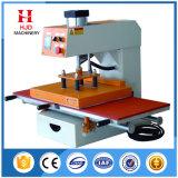 Double-Position Pneumatic T Shirt Heat Transfer Machine