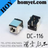 4pin DIP Type DC Power Jack with Metal Casing (DC-116)