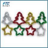Colorful Christmas Gift Tinsel for Christmas Decoration
