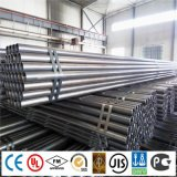 ERW Welded Carbon Black Structure Transportation Steel Pipe