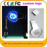 New Crystal Light USB Flash Drive, USB Stick Pen Drive (EM048)