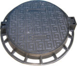 B125 C250 D400 Ductile Iron Manhole Cover and Frame