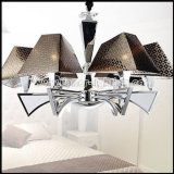 Simple Style Chandelier with PC Shades for Home or Hotel