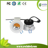 600-700lm 6W LED COB Downlight with 3 Years Warranty
