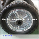 8 Inch Rubber Container Caster Wheels with Needle Bearing