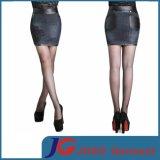 Sexy Lady Black Leather Pencil Skirt (JC2084)