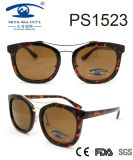 2017 Latest Fashion Style Demi Frame Plastic Sunglasses (PS1523)