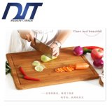 Family Eco Friendly Bamboo Chopping Board with Groove