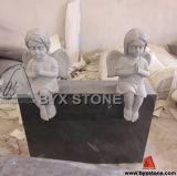 Adorable Granite Stone Baby Angel Monument / Headstone