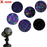 RGB Eight Flower Motion Light with Remote Control