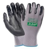 Anti-Abrasion Oil-Proof Safety Work Gloves with Nitrile Coating