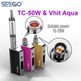 Popular Seego Vhit Aqua & Tc-50W Adjustable Wattage Electronic Cigarette