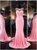 Beaded Prom Gowns Spandex Prom Evening Prom Dress B31