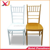 Promotion Stacking Metal Chiavari Tiffany Chair for Hotel Wedding Dining Event Party