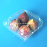 Four Cells Plastic Fig Fruit Clamshells Fruit Packaging Box