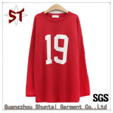 OEM Original Production Sports Casual Long T-Shirt for Women