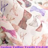New Design Chiffon Digital Printing Fabric for The Dress