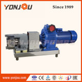 Lq3a Stainless Steel Lobe Pump Hygienic Rotor Pump Food Grade Positive Displacement Pump for High Viscosity Liquid