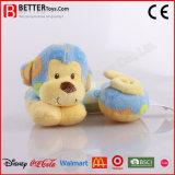 U-Shaped Neck Pillow Soft Monkey Plush Pillow for Baby Kids