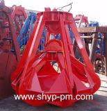 Mechanical Type Two Ropes Orange Peel Grab