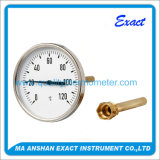 Hot Water Thermometer Used in Industry for Hot Water Lines