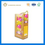 Handle Rigid Paper Packing Box for Personal Care Products (with blistre tray)