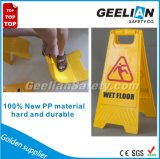 Yellow Plastic High Visibility Warning Sign
