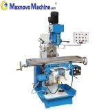 Gear Driving High Loaded Universal Turret Milling Machine (mm-MFM250)