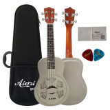 Nrp Brass Metal Body Resonator Ukulele 24 Inch Wholesale Price