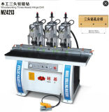 High Quality Three Heads Hinge Drilling Machine for Woodworking Cabinets