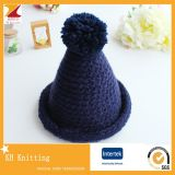 Hot Sale Lovely Girls Kids Winter Hats and Caps with Top Ball