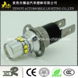 50W LED Car Light High Power LED Auto Fog Lamp Headlight with T10 T20, H1/H3 H16 Pw24 Light Socket CREE Xbd Core