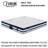 Pocket Spring Mattress with Natural Latex for Bedroom Furniture =Fb915