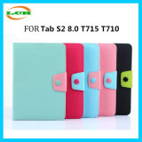Card Slot Folio Wallet Silicone+TPU Case for Sumsung with Button