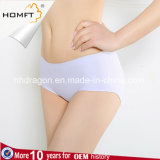One-Piece Seamless Viscose MID-Rised Mention Hip Sexy Girls Stylish Panties Ladies Lingerie Panty